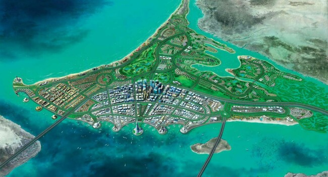 An overview of Saadiyat Islands transformation