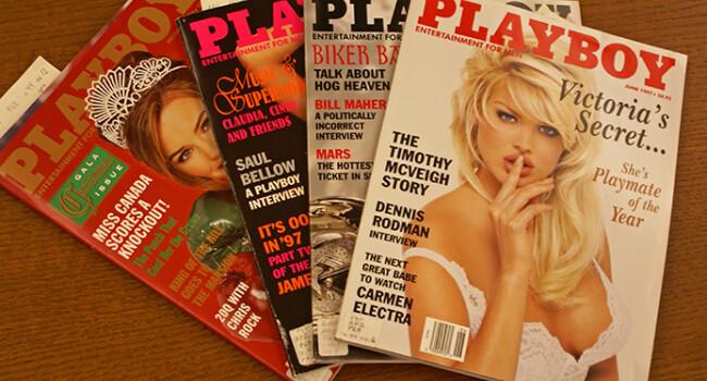 Cum va arata prima pagina pe Playbou dupa ce se renunta la nuditate