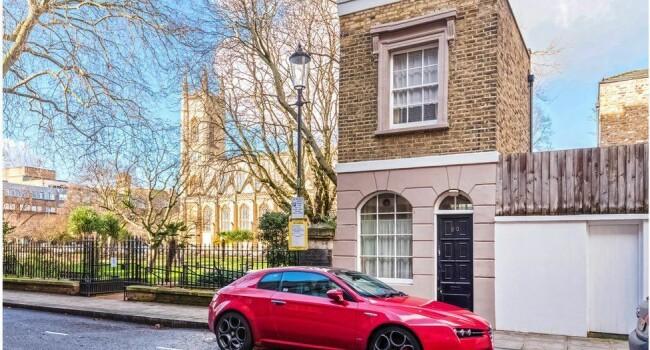 Cum arata una dintre cele mai mici case din Londra! Are doar 27 de metri patrati, dar stai sa vezi pretul - 4