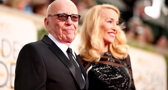 La 84 de ani, magnatul Rupert Murdoch se insoara cu un fost fotomodel