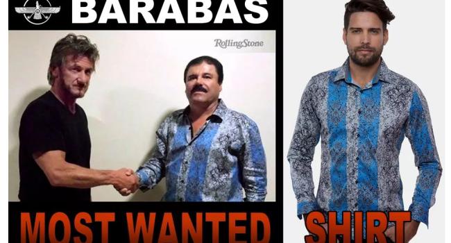 Idee de afacere: imbraca-te ca El Chapo :) Un american vinde camasi identice cu cea purtata de traficantul mexican