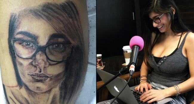 Un barbat si-a tatuat chipul unei starlete de filme XXX. Raspunsul acesteia l-a facut, insa, sa regrete amarnic