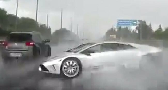 Un Lamborghini a fost DISTRUS complet in doar 6 secunde! Ce a patit bijuteria de 210.000 de euro