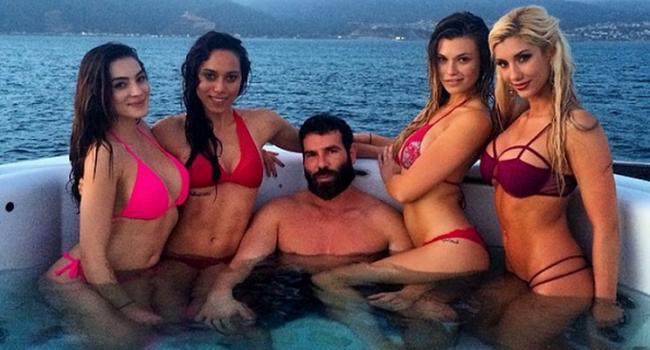 Regele Instagramului si-a facut iubita stabila! Cine este femeia care l-a cumintit pe Dan Bilzerian