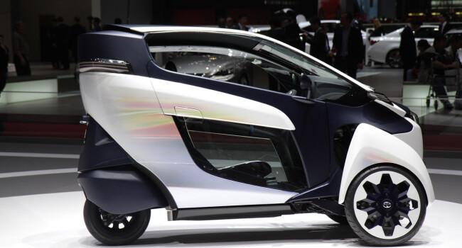 Toyota i-Road - 5
