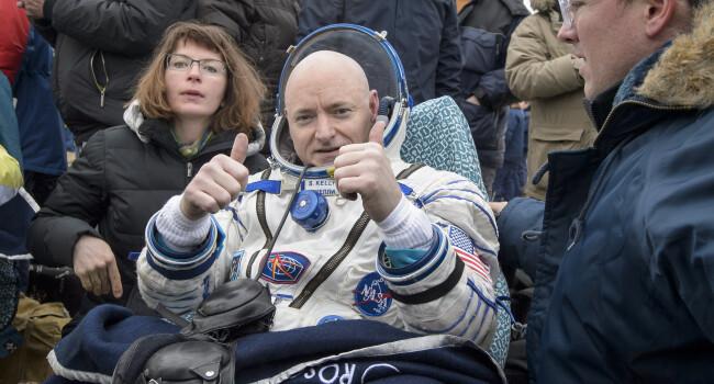 Stiinta: Astronautul care si-a petrecut 340 de zile pe Statia Spatiala Internationala a crescut cu 5 centimetri in inaltime
