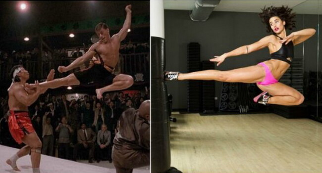 Tatal sau este Jean-Claude Van Damme, dar nu de el trebuie sa te temi. Ci chiar de ea ;) Cum arata Bianca Van Damme la 26 de ani