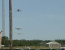 avion tras de elicopter