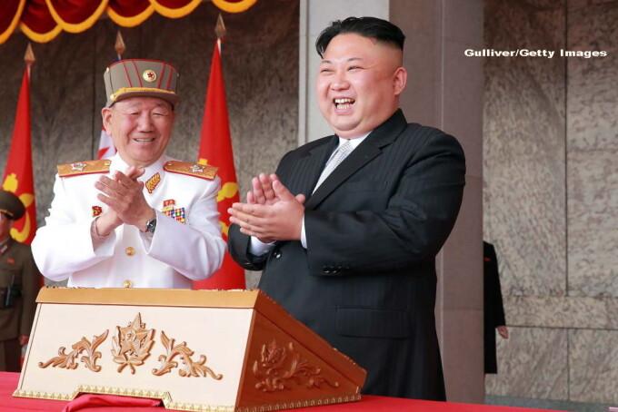 parada militara in Coreea de Nord - 9
