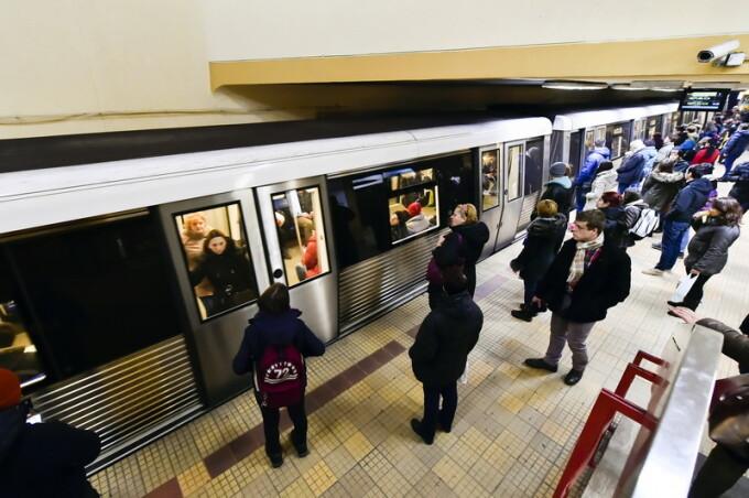 metrou Bucuresti - agerpres