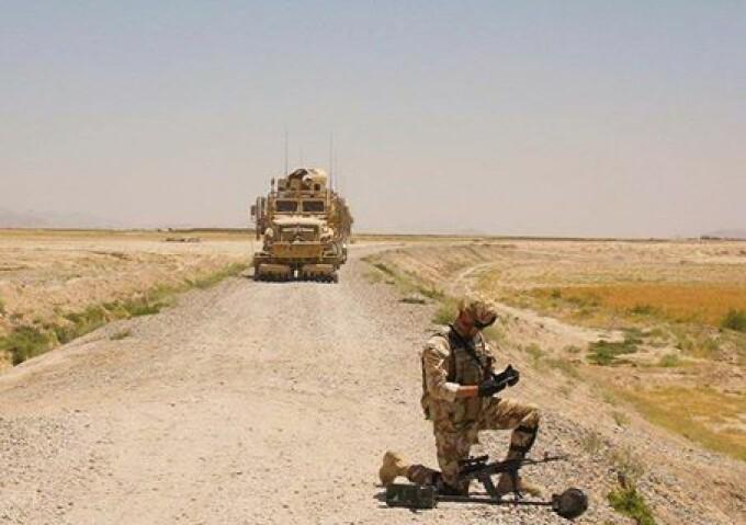 militar român, rănit, Afganistan