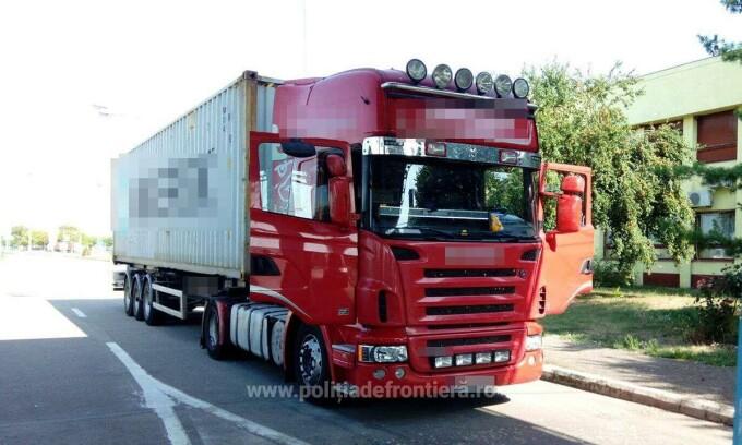 camion plin cu calorifere