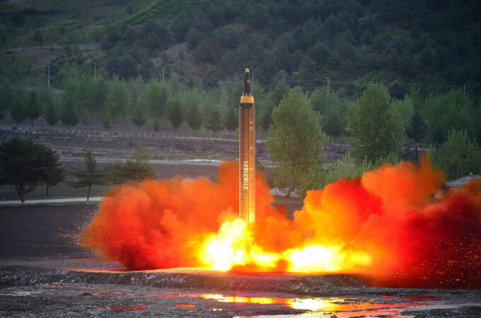 lansare racheta Hwasong-12
