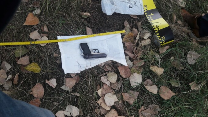 The stolen gun of the gendarmerie