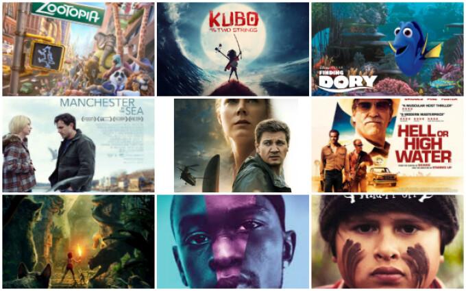 filmele anului 2016