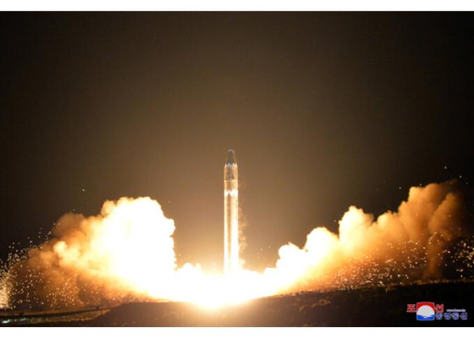 racheta Hwasong-15