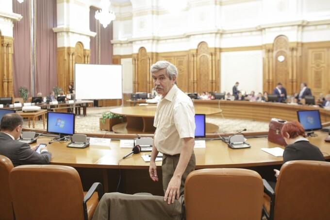 Marton Arpad la comisia juridica a Camerei Deputatilor, in Parlament