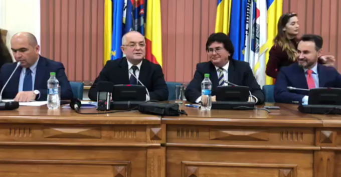 the alliance of West Timisoara, Nicolae Robu, Emil Boc, Gheorghe Falca, Ilie Bolojan