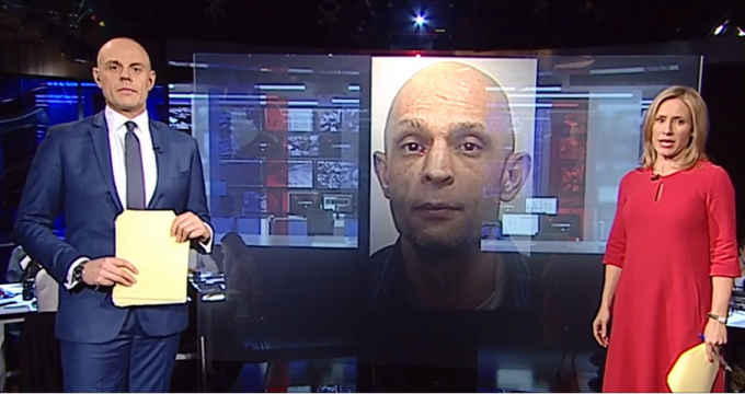prezentator BBC