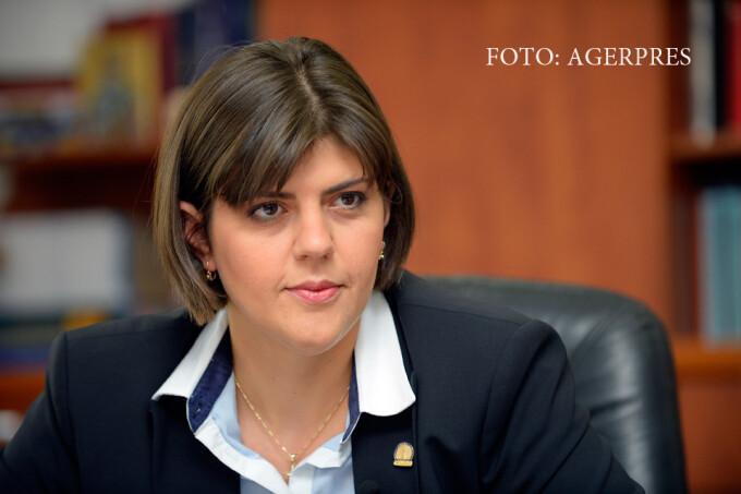 Laura Codruta Kovesi, procurorul sef al Directiei Nationale Anticoruptie DNA
