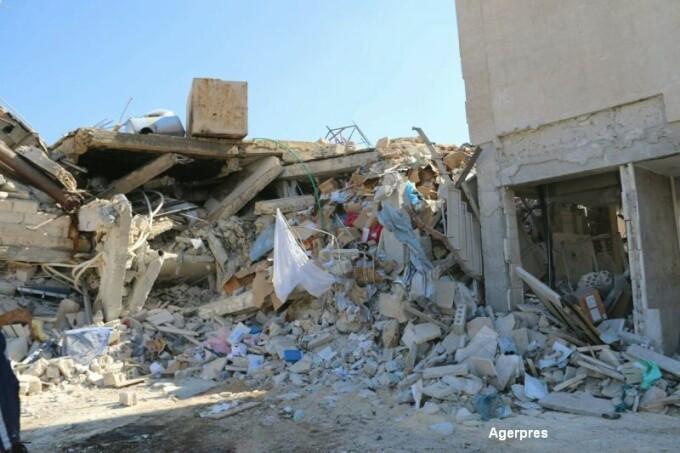 Spital MSF, distrus de bombardamente in Siria