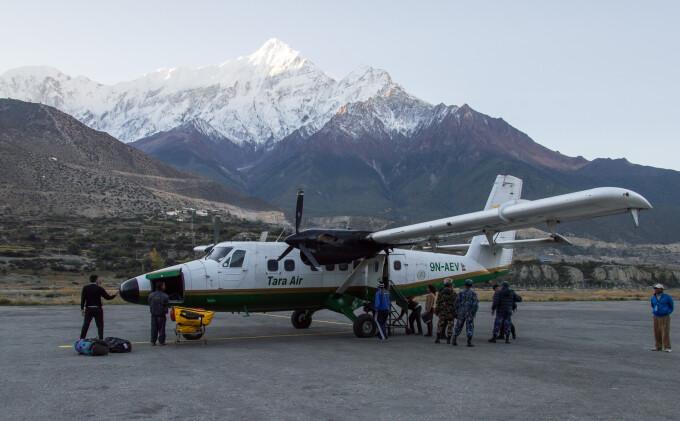 nepal, avion, foto
