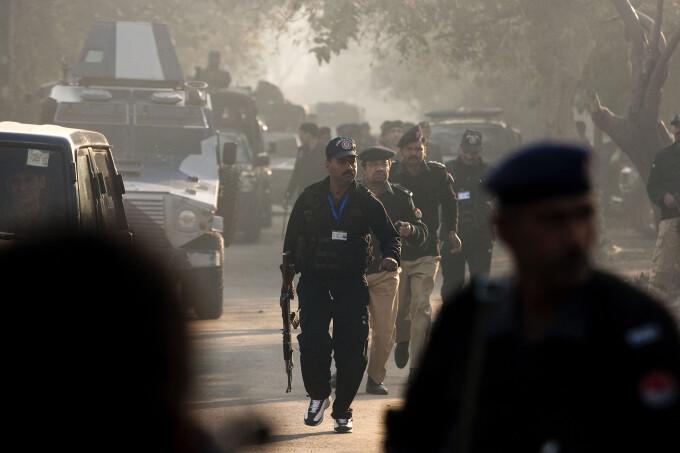 politie pakistan