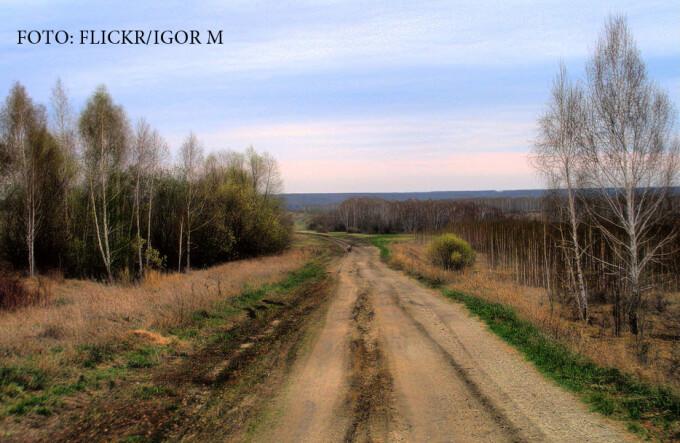 drum de pamant in Rusia