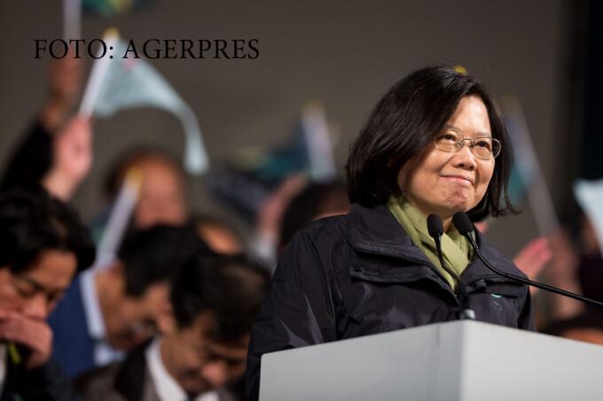 Tsai Ing Wen, presedinte Taiwan