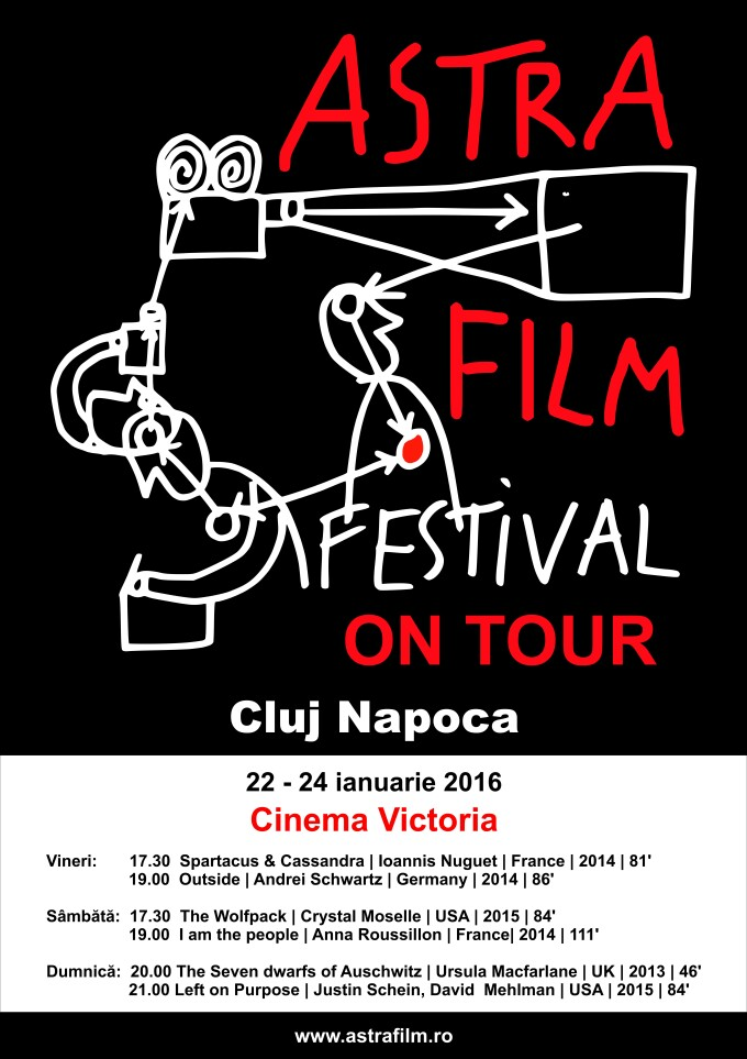 Astra Film on Tour aduce 6 filme de top la Cluj