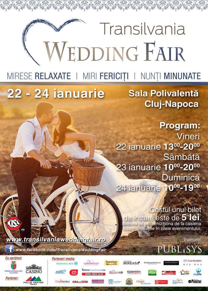 Transilvania Wedding Fair, in weekend la Sala Polivalenta din Cluj-Napoca