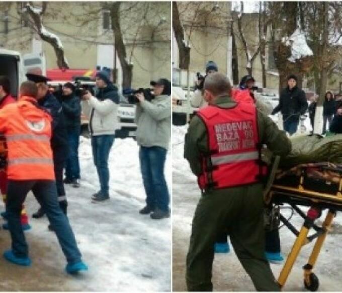 explozie Chisinau