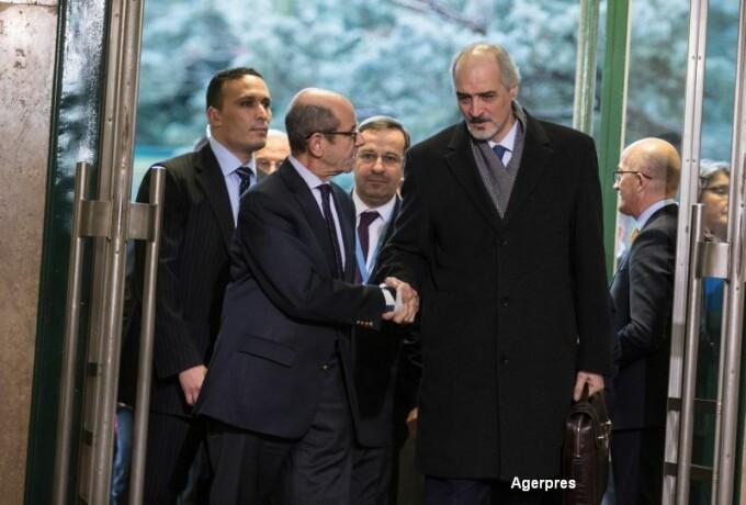 Opozitia siriana la discutiile de pace de la sediul ONU