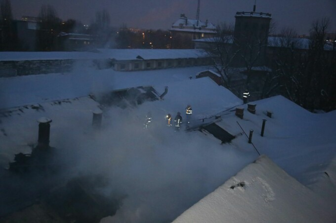 incendiu Fabrica de Chibrituri