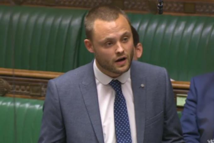 Ben Bradley in Parlament