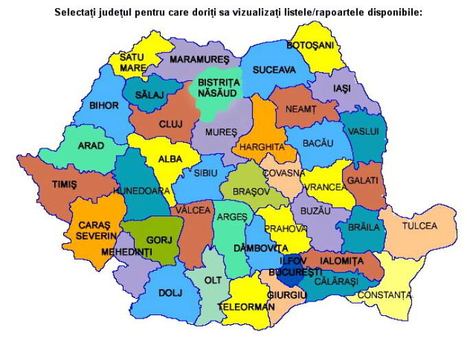 Harta admiterii