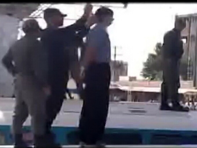 Executie publica in Iran