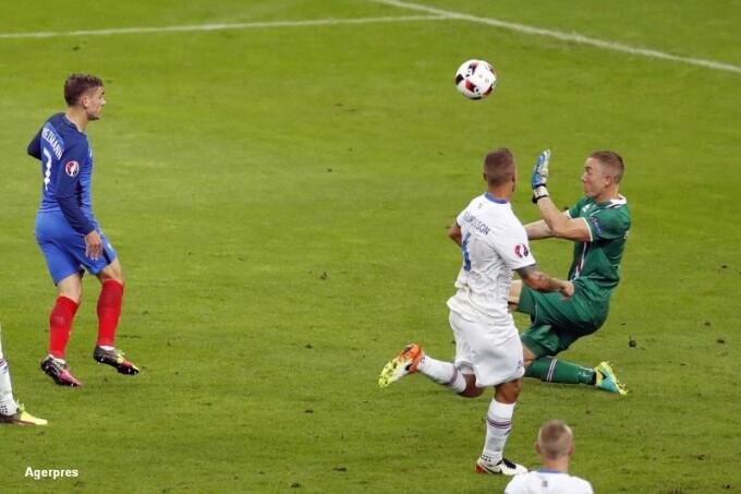 PORTUGALIA - FRANTA 1-0. Eder a inscris unicul gol al meciului. Ronaldo s-a accidentat in ...