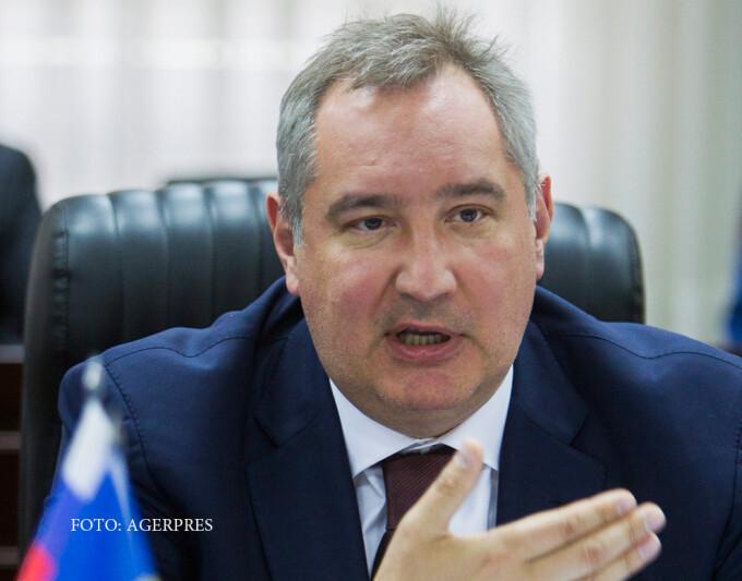 Dmitri Rogozin, vicepremier rus, in Moldova