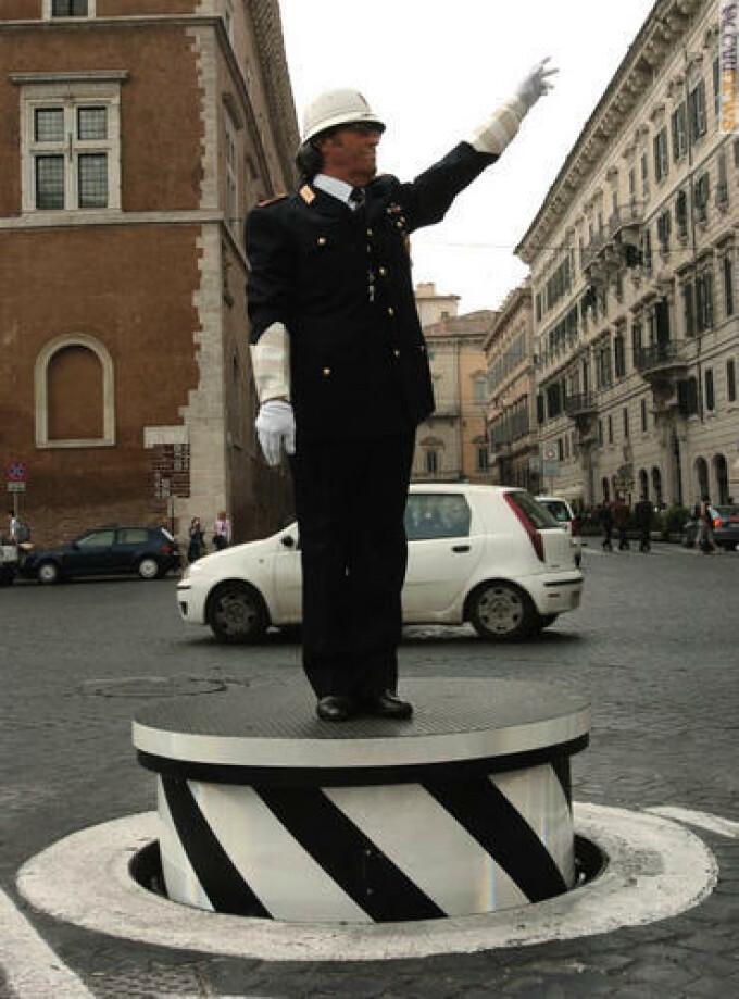 Politist italian