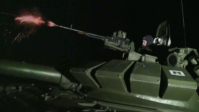 Expercitiu militar al parasutistilor rusi