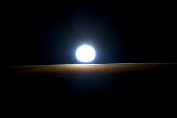 rasarit in spatiu- NASA