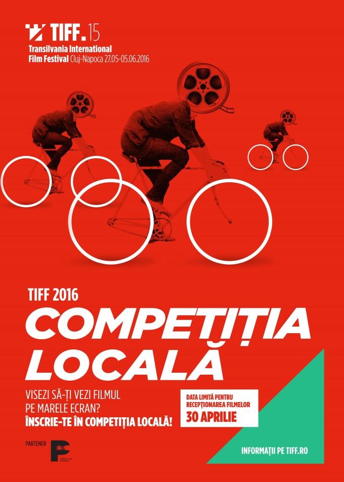 Incepe Competitia Locala TIFF 2016. Artistii clujeni isi pot inscrie filmele