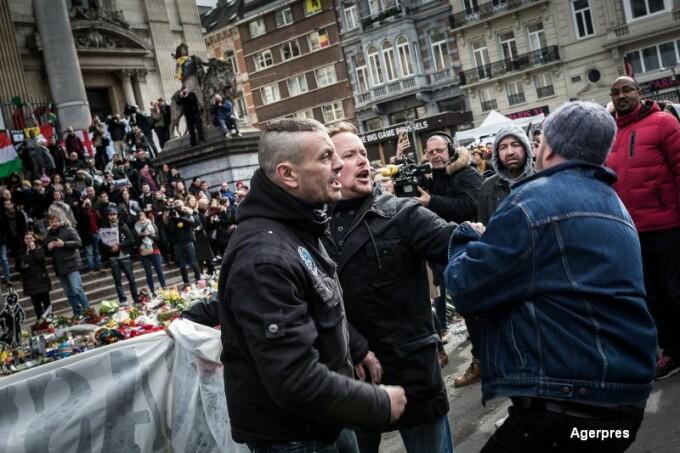 Incidente la comemorarea din Belgia
