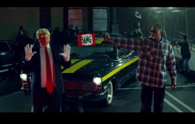 Snoop Dogg, Donald Trump