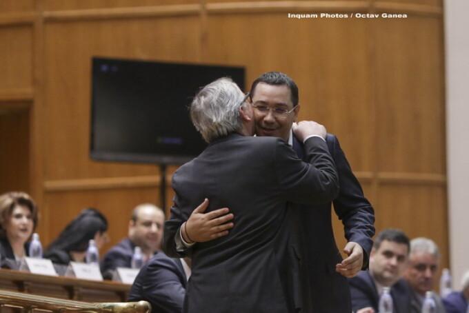 Jean Claude Juncker, Victor Ponta