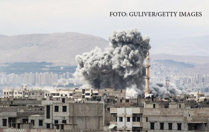 raid aerian Siria