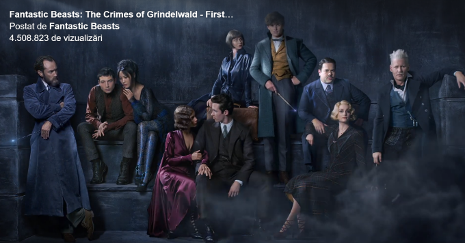 Fanastic Beasts: The crimes of Grindelwald