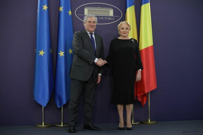 Dancila and Tajani