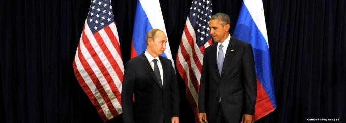Barack Obama, Vladimir Putin - cover GETTY